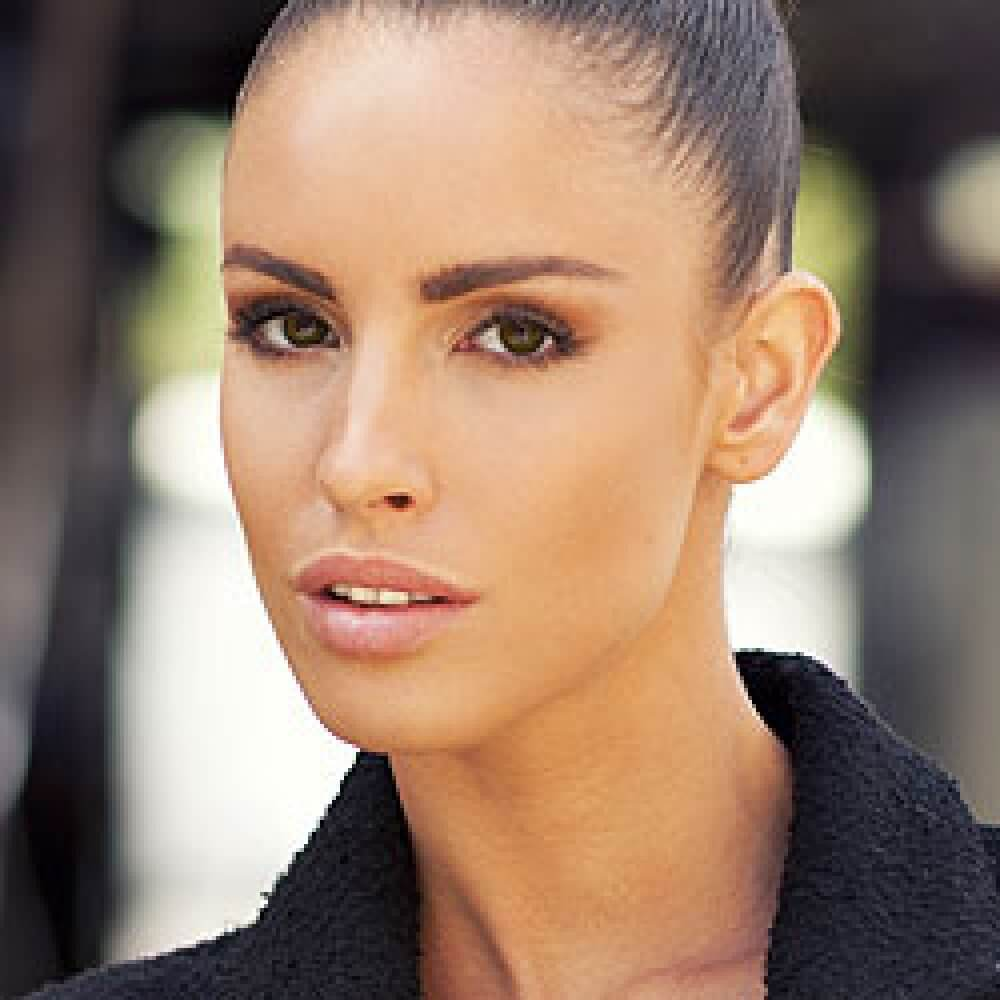 Lucia Javorčeková, professionelles Model