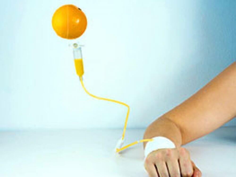 Infúzna terapia vitamínom C - novinka u nás na klinike pre vašu imunitu!
